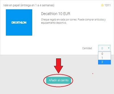 i-Say premio de 20€ Decathlon
